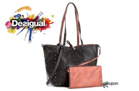 Desigual kifordítható shopper táska