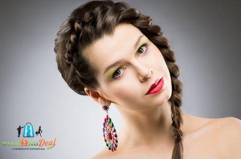 6 féle választható, mesés hajfonat készítése