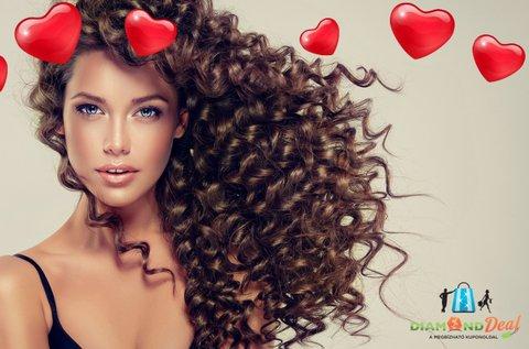 Hajszerkezet újraépítés Hairgold botox kezeléssel