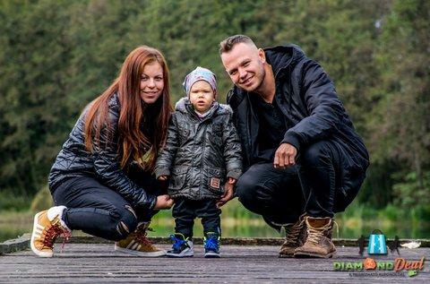 1 órás családi fotózás 10 db retusált képpel