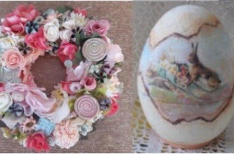 Tavaszi dekoráció készítő kézműves workshop
