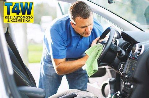 Üléskárpit tisztítás külső- és belső autómosással