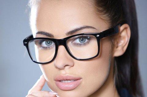 Bifokális szemüveg érintésmentes vizsgálattal