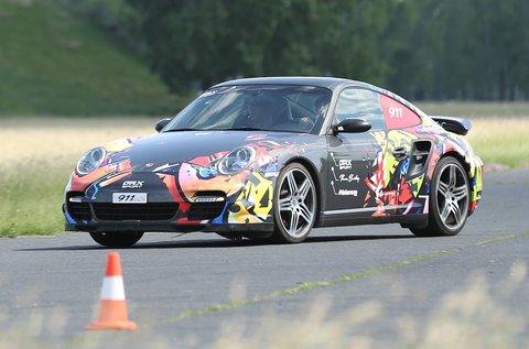 Porsche 911 Turbo vezetési élmény sétarepüléssel