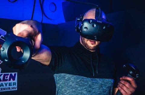 1 órás HTC VIVE virtuális valóság élmény 1 főnek