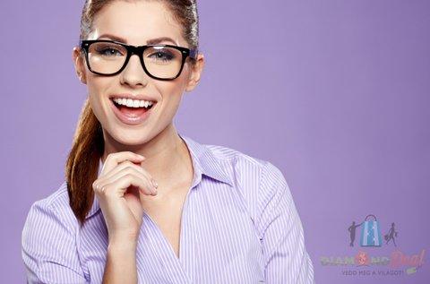 Multifokális szemüveg készítése trendi kerettel