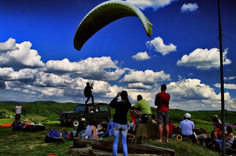 2 napos siklóernyős oktatás a Budai-hegyekben