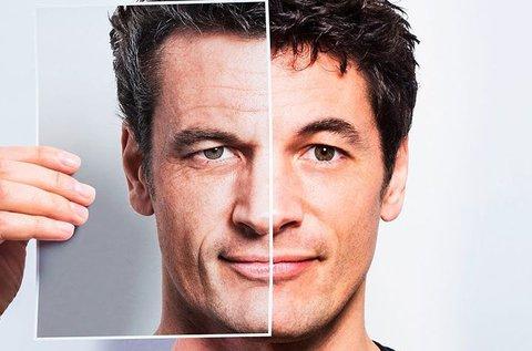 Ráncfeltöltés tű nélküli mezoterápiával férfiaknak