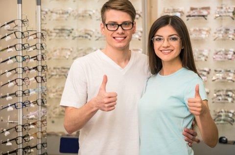 Személyre szabott szemüveg készítése kerettel