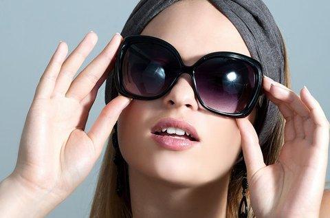 Dioptriás napszemüveg a vakító napsugarak ellen