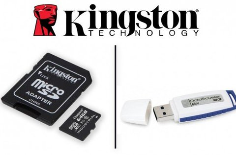 Kingston 64 GB-os MicroSD kártya vagy pendrive