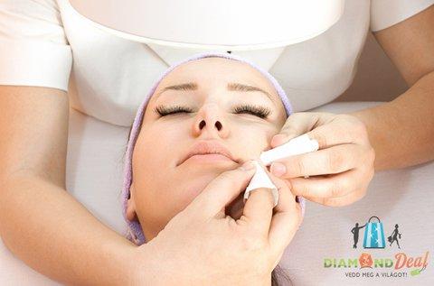 Ultrahangos arctisztító kezelés Ilcsi termékekkel