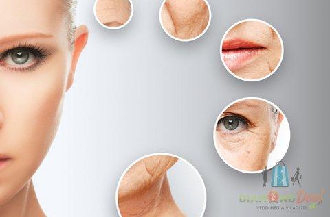5 lépcsős botox hatású arcfiatalító kezelés