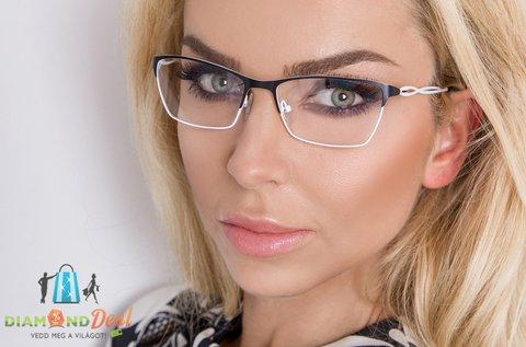 Trendi szemüveg készítése vékonyított lencsével