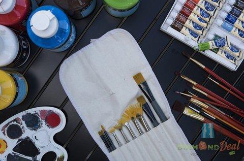 3 órás festő workshop akrilfestmény készítéssel