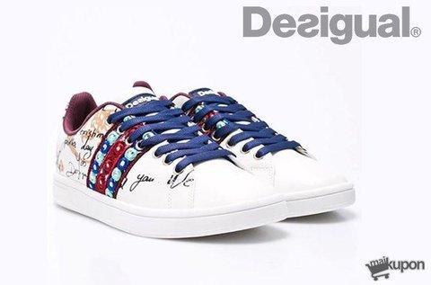 Stílusos Desigual designer sportcipő