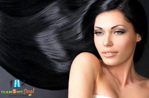 Trendi hajfestés és -vágás fejmasszázzsal