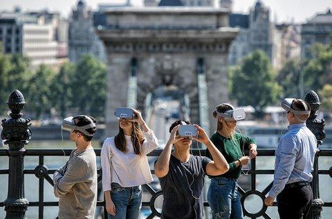 Időutazó, virtuális városnézés a Budai Várban