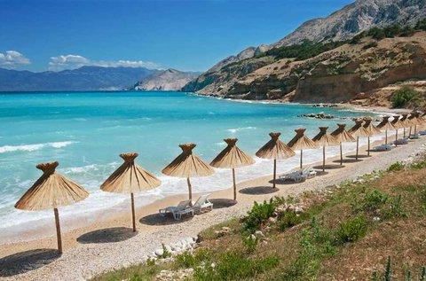 1 napos fürdőzés Baska tengerpartján