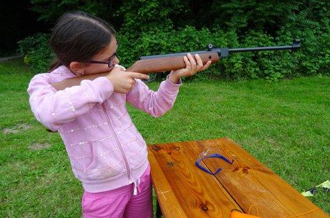 Élménylövészet gyerekeknek, 50 lövéssel