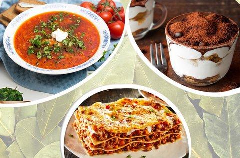 Dolce Vita olasz főzőkurzus és vacsora program
