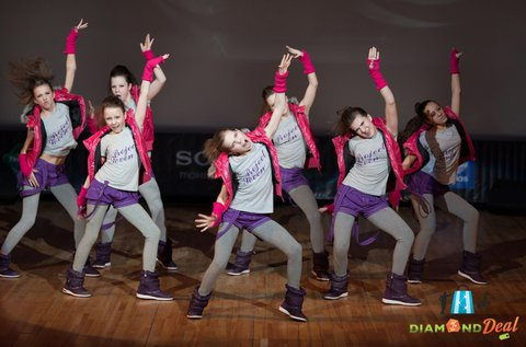 Havi táncoktatás bérlet gyerekeknek