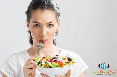 90 napos személyre szabott étrend receptekkel