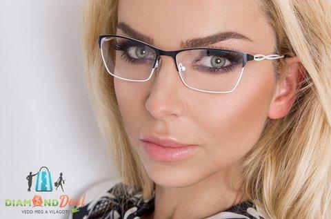 Elegáns szemüveg vékonyított lencsével