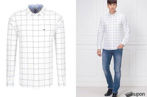 Tommy Jeans fehér, kockás férfi ing 2 méretben