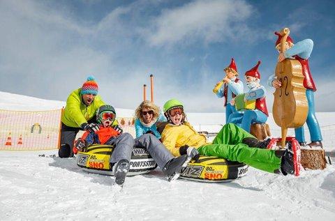 Téli élmények az osztrák Alpokban, Patergassenben