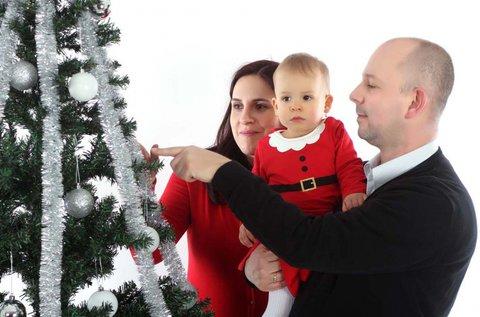 Karácsonyi fotózás 26 oldalas  fotókönyvvel