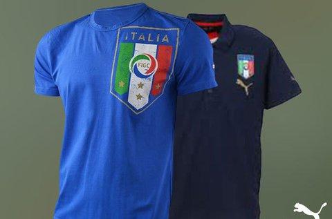 Puma Italia pólók férfiaknak XS-XL méretben