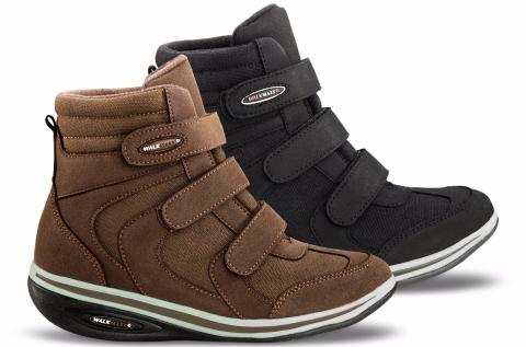 Walkmaxx magasszárú női cipő lekerekített talppal