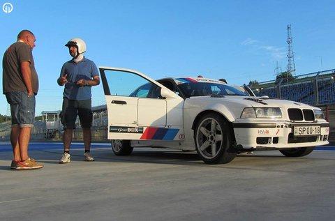 Repessz egy BMW E36 rally versenyautóval!