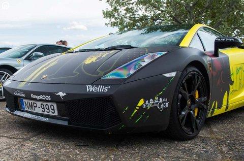 8 körös élményvezetés Lamborghini Gallardoval