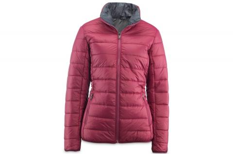 Walkmaxx Fit női télikabát lila-szürke színben