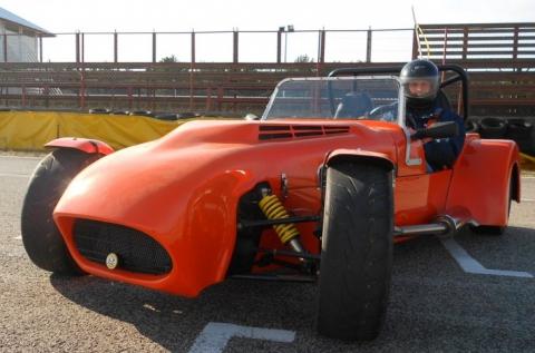2 körös Lotus Super Seven vezetés