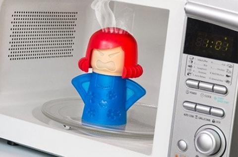 Füstölgő Mama mikrohullámú sütő tisztító