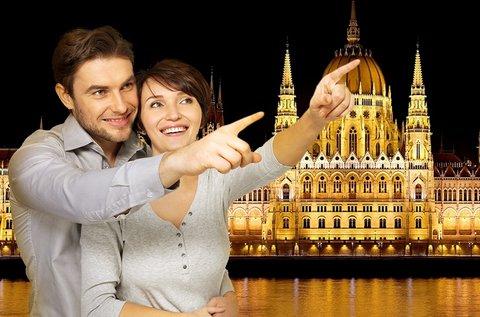 Romantikus sétahajózás a Dunán 2 fő részére