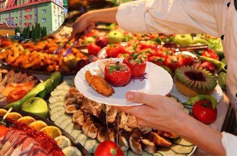 Korlátlan svédasztalos ételfogyasztás 1 főre