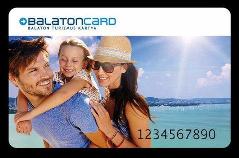 BalatonCard 2017 közel 200 turisztikai szolgáltatásra