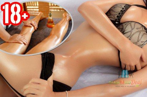 60 perces teljes testes tantra masszázs hölgyeknek