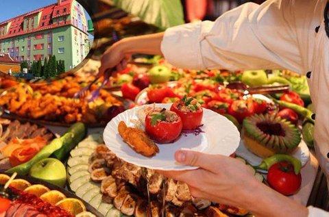 Korlátlan svédasztalos ételfogyasztás Budapesten