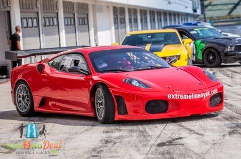 Vezess egy Ferrari F430 GT3 autót Mogyoródon!