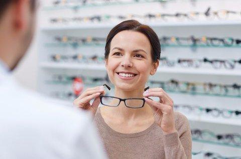 Vékonyított lencséjű komplett szemüvegkészítés