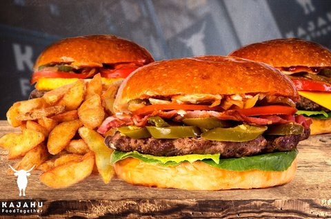 Organikus kézműves sajtburger