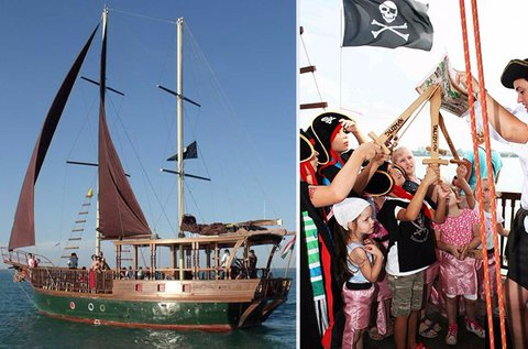 Kalóz háború és kincskeresés a Balatonon