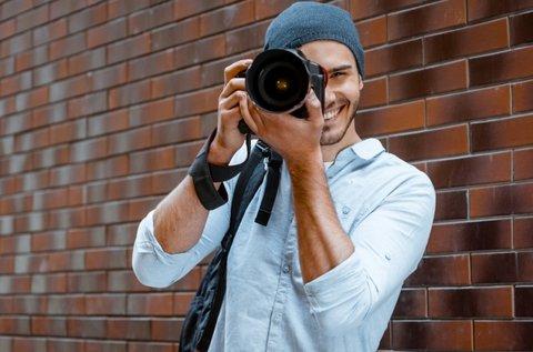 Stúdió- vagy szabadtéri fotózás 150 db képpel