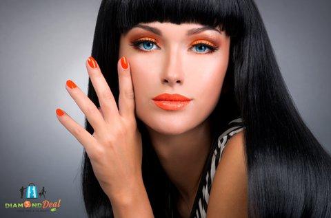 Komplett női hajvágás manikűrrel, pedikűrrel