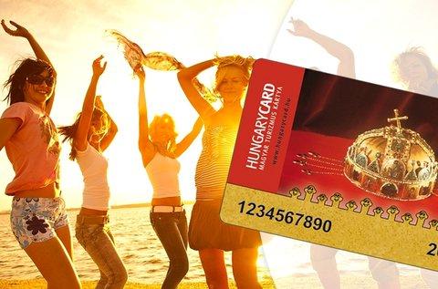 HungaryCard Basic 2017 kedvezménykártya